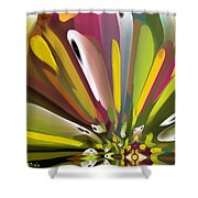 When Spring Turns To Fall Shower Curtain