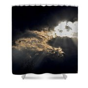 When The Night Has Come Shower Curtain