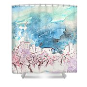 When Trees Were Still Trees Shower Curtain