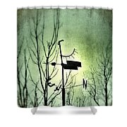Where The Wind Takes Me... Shower Curtain