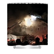 Where There Is Smoke-1 Shower Curtain