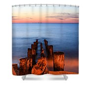 While You Were Sleeping Shower Curtain