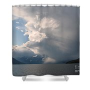 Whirling Storm Shower Curtain
