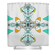 Whirly Birds Shower Curtain