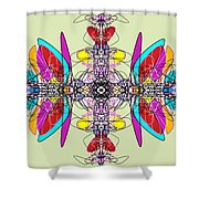 Whirlygig Shower Curtain