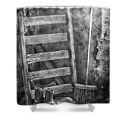 Whispering Walls  Shower Curtain