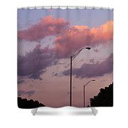 Whispers Of Sunset Shower Curtain