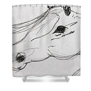 Whispy Shower Curtain