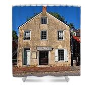 White Hall Tavern Harpers Ferry Virginia Shower Curtain