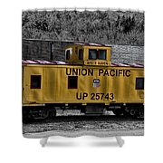 White Haven - Union Pacific Shower Curtain