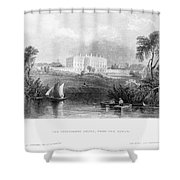 White House, 1839 Shower Curtain