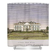 White House, D.c., 1820 Shower Curtain
