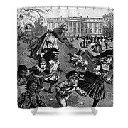 White House: Easter, 1887 Shower Curtain