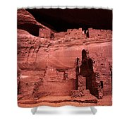White House Ruin New Mexico Shower Curtain