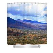 White Mountains Vista Shower Curtain