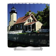 White River Light Shower Curtain