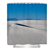 White Sands 1 Shower Curtain