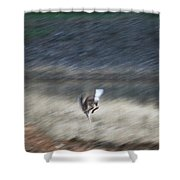 Whitetail Abstract Shower Curtain