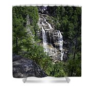Whitewater Falls Shower Curtain by Rob Travis