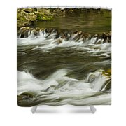 Whitewater River Rapids 3 Shower Curtain