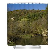 Whitewater River Scene 20 A Shower Curtain