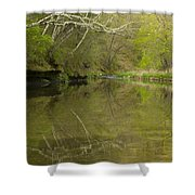 Whitewater River Spring 13 Shower Curtain