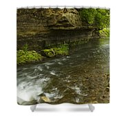 Whitewater River Spring 6 Shower Curtain