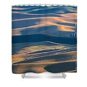 Whitman County Grain Silo Shower Curtain