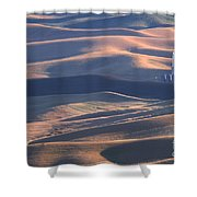 Whitman County Granary At Sunset Shower Curtain