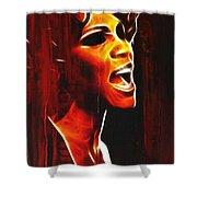 Whitneys Tears Shower Curtain