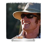 Whole Lot Of Hilarity Shower Curtain