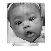 Wide Awake Shower Curtain