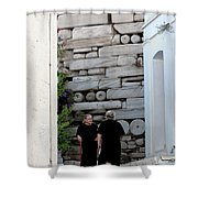 Widows At The Wall Shower Curtain