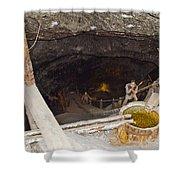 Wieliczka Salt Mine  Shower Curtain