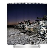 Wiesel 1 Atm Tow Anti-tank Vehicles Shower Curtain