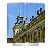 Wilanow Palace - Poland Shower Curtain
