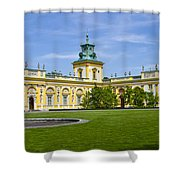Wilanow Palace - Warsaw Shower Curtain