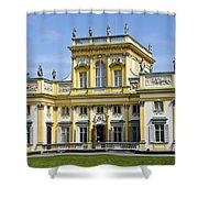 Wilanow Palace And Museum - Poland Shower Curtain