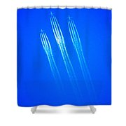 Wild Blue Yonder Shower Curtain