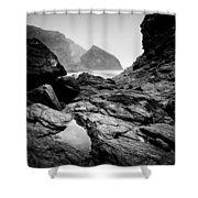 Wild Coast Shower Curtain