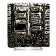 Wild Doors Shower Curtain