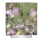 Wild Flowers - Just Wild Shower Curtain