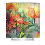Wild Flowers 05 Shower Curtain