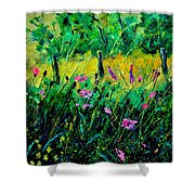 Wild Flowers 451190 Shower Curtain