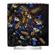Wild Flowers 452150 Shower Curtain