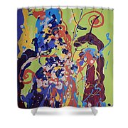 Wild Flowers104 Shower Curtain