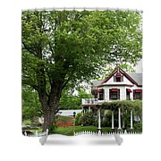 Wild Rose Inn Woodstock Shower Curtain