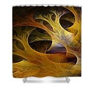 Wild Trees Shower Curtain