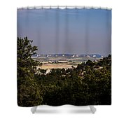 Wildcat Hills View Shower Curtain