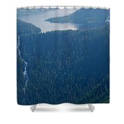 Wilderness Waterfall Shower Curtain